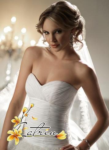 Пышное свадебное платье Yasmin.